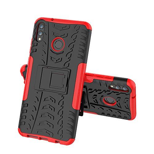 DAYNEW Capa para Xiaomi Mi 9 SE, Capa de Proteção Perfil do Pneu 360 Graus Proteção de Armadura para Queda para Xiaomi Mi 9 SE-Red