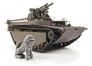 Unbekannt AFV de Club dh96008-Maqueta de lvt 4Buffalo Carrying M2A1105mm Howitz