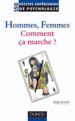 Hommes, femmes. Comment ça marche? par Serge Ciccotti