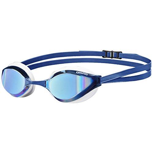 arena Unisex Training Wettkampf Schwimmbrille Python Mirror (Verspiegelt, UV-Schutz, Anti-Fog...