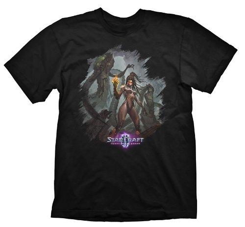 Preisvergleich Produktbild Starcraft 2 T-Shirt Heart Of The Swarm Kerrigan Leader, Größe XL
