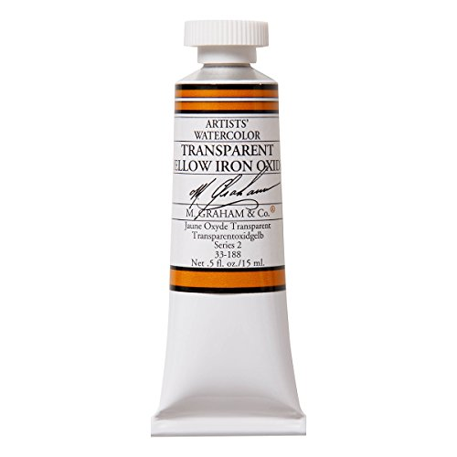 M. Graham 1/2-Ounce Tube Watercolor Paint, Transparent Yellow Iron Oxide  available at amazon for Rs.1639