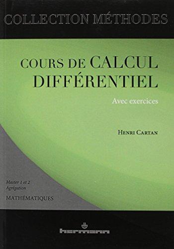 Cours de calcul différentiel