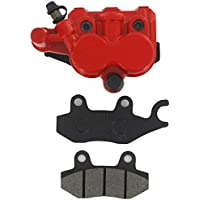xfight-parts–Pinza Rosso freno anteriore sinistro () con doppio pistone widerlager senza supporto 2tempi 50ccm YY50QT–28
