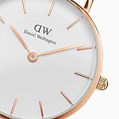 Idea Regalo - Daniel Wellington Orologio Analogico Quarzo Donna con Cinturino in Acciaio Inox DW00100219