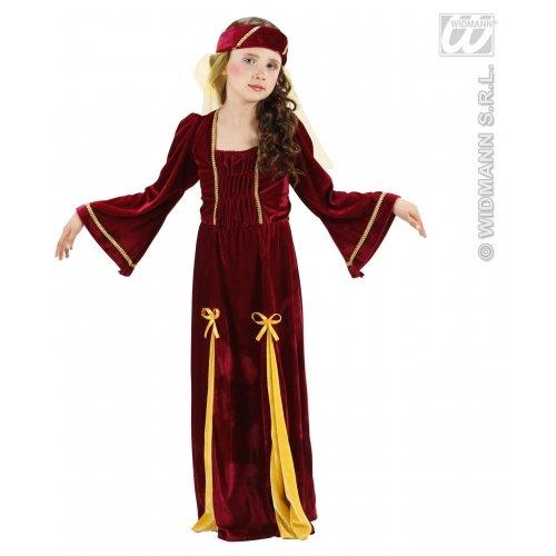 Widmann-WDM1252M Kostüm für Mädchen, Bordeaux, WDM1252M