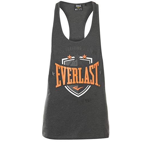 Everlast - Camiseta Tirantes Hombre, Cuello