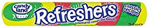 Barratts Refreshers Fruity Flavour Fizzy Sweets 34.2 g (Pack of 48)