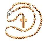 Chapelet catholique fait à a main en France avec médaille miraculeuse