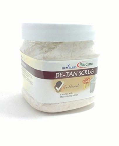Biocare De-Tan Scrub Enriched With Milk And Honey, 500Ml.