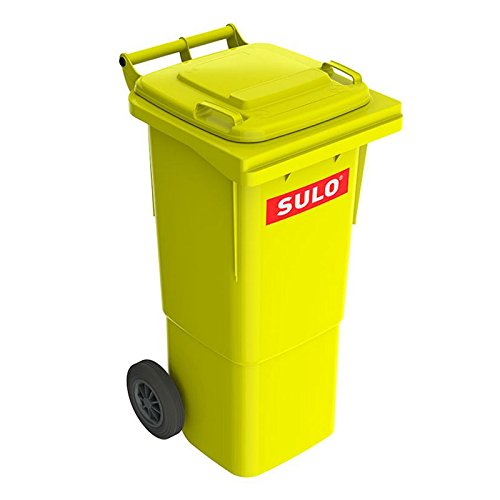 *SULO 2 Rad Müllbehälter MGB 60, Inhalt 60 l – Gelb*