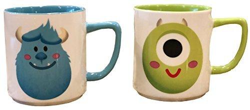 Disney Parks Shanghai Monsters Inc. Sulley und Mike SO CUTE Tasse Set
