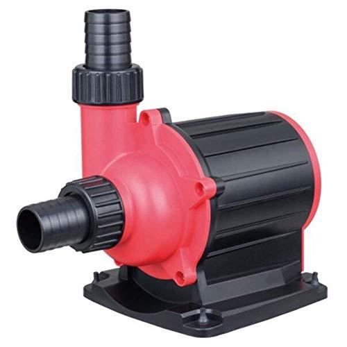 Xiaotian Absinkende Pumpe für Fischgartenteiche - spart extrem leise Frequenzumwandlung, Spannung der Pumpen mit großem Aquariumrahmen 110V-230V,10000L/H