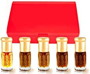 Sheikh Attar Five Pieces Attar Gift Set for Men and Women 15ML