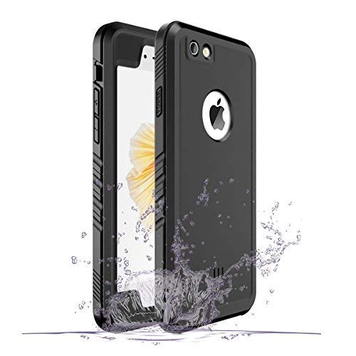 SPORTLINK wasserdichte Hülle für iPhone 6, Waterproof Case for iPhone 6s, Schutzhülle Ganzkörper Unterwasser Rugged Schale Schmutzabweisend IP68 zertifizierter wasserdichter Case