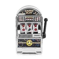Leoboone Funny Toy Metal Mini Lucky Slot Machine Entertainment Tool for Fun