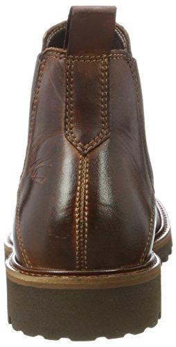 camel active Herren University 14 Chelsea Boots Braun (Brandy)