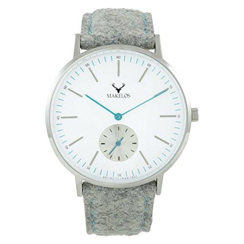 Makelos Armbanduhr Quarz Damen Uhren Frauen Uhren günstige Uhren Coole Uhren mesh Uhren meshband Frauen Uhren armbanduhren für Frauen Uhren für Frauen edle Uhren besondere Uhren Sale Silber