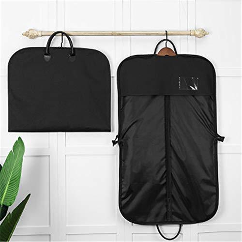 ZXXxxZ Business-Anzug-Tasche Waschbar Staubdicht UV-beständig Anti-Fading-Falten-Schutz Feuchtigkeitsbeständig Langlebig Faltbar Leichtgewicht (Anzug Fenster Mit Tasche)
