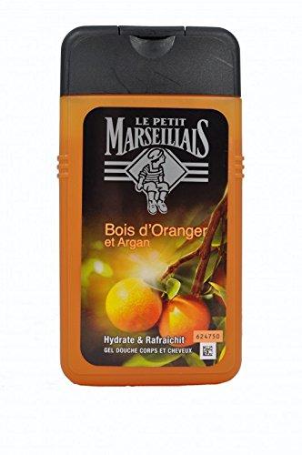 LE PETIT MARSEILLAIS Gel Douche Homme Corps et cheveux Orange Argan - 250ml