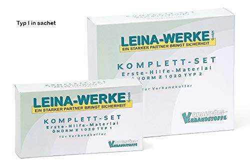 LEINA-WERKE 39000 erste Hilfe Füllung, ÖNORM Z 1020 Typ I in Folientasche