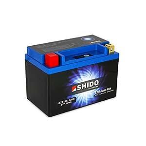 SHIDO LTX9-BS LION -S- Batterie Moto Lithium Ion