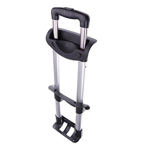 Universal Trolleygriff Ausziehgriff mit Aluminiumschaft für Trolley Reisekoffer Gepäck-Koffer usw. - DREI Bars
