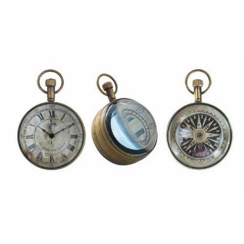 """Taschenuhr \""""The Eye of Time\"""" ehern"""