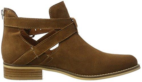 Shoe Biz Short Boot, Bottes Classiques Femme Marron (Cognac Suede)