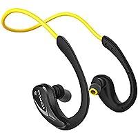 QLMY Headset Ohrstöpsel Bluetooth 4.1 Nackenbügelkopfhörer Rauschunterdrückung Antischweiß Geringes Gewicht Inearwirelesssportkopfhörer Geeignet Für Laufen Yoga Flugreisen