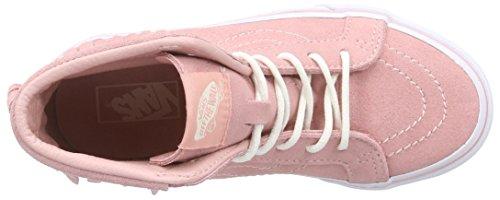 Vans Sk8-Hi Moc, Sneakers Hautes Mixte Enfant Rose (blossom)