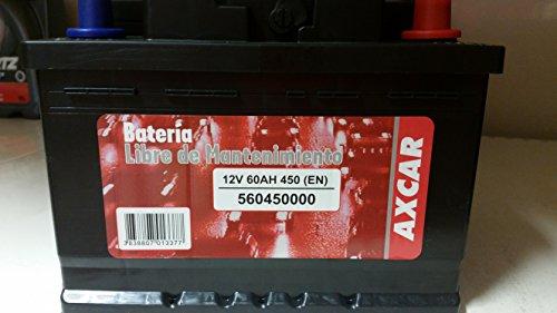 BATERIA AXCAR 60 AH NEG/POS 540 AA