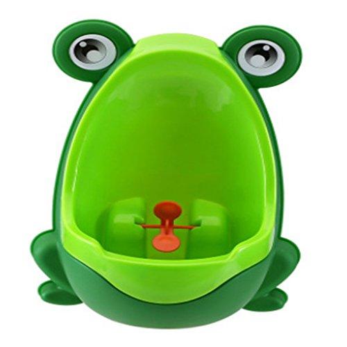 gespout urinoirs per Verde Bambini Rana Plastica Facile Da Usare regolabile in altezza diversi colori 30x21x17cm verde