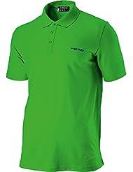Head Bjorn Polo Shirt Herren kurzarm Sport Poloshirt 811273-LIBL green/blue