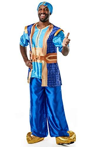 Rubie's Offizielles Disney Live Action Aladdin, Genie Herren-Kostüm (Aladdin Genie Kostüm)