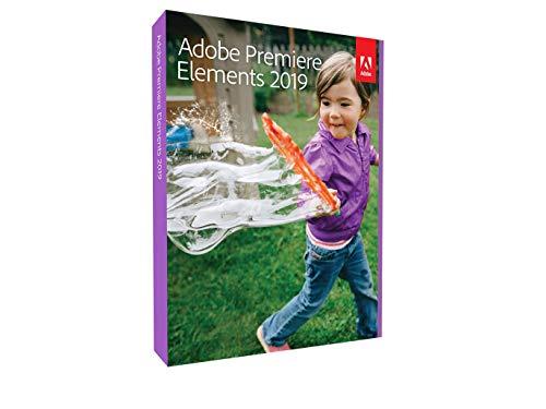 Adobe Premiere Elements 2019 Vollversion 1 Gerät unbegrenzt PC/Mac Disc Disc (Adobe Premiere Für Mac)