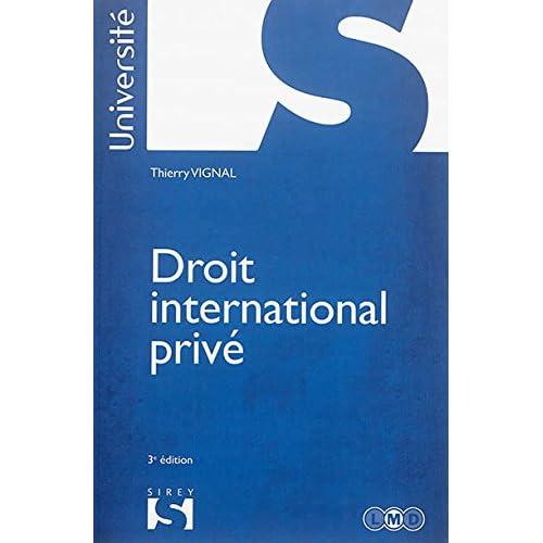 Droit international privé - 3e éd.