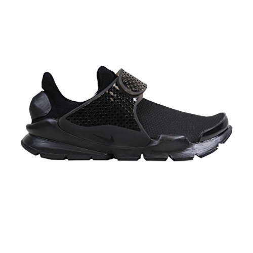Nike Mädchen Wmns Sock Dart Se Laufschuhe, Black (Black (Schwarz / Schwarz-Volt)), 36.5 EU (Nike Dart Mädchen)