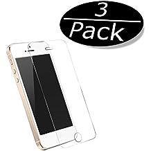 3x iprime® Premium Apple Iphone 5/5s/5C, iPhone se tanque Cristal Vidrio Templado Protector de pantalla Protector de pantalla de cristal 3d Touch compatible Anti Shock tanque pantalla Protector de pantalla