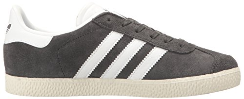 Adidas Youth Gazelle Suede Trainers Dark Grey