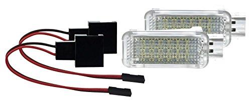 2 X Fußraumbeleuchtung LED SMD Modul WEIß