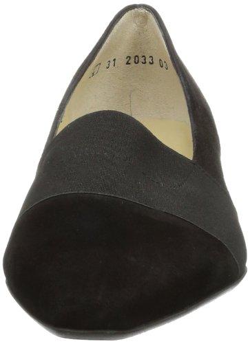 Peter Kaiser LAGOS, Scarpe col tacco donna nero (Schwarz (Schwarz Suede))
