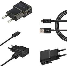 1,5M de largo Negro Original Samsung Cargador USB Cable de carga Samsung Galaxy J72017Duos SM de j730F/DS