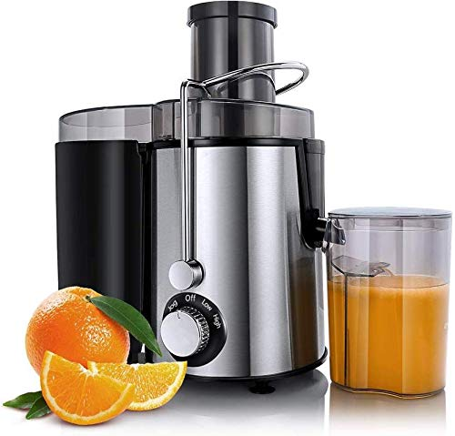 Bms Lifestyle High Grade Steel Centrifugal Juicer(Pulp Juice Extractor), Foam Separator Jar(800 ml)