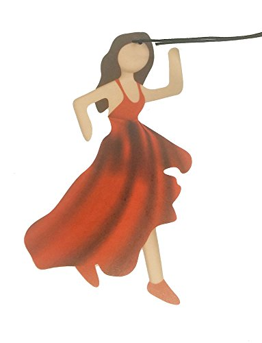Emoji EM2D9Dancing Lady Fresh Lino Deodorante per Auto