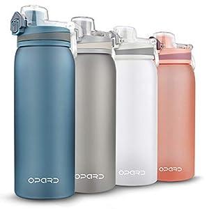 Opard Trinkflasche Sport 900ml -Wasserflasche aus Tritan BPA-Frei, Auslaufsicher Sportflasche für Kinder, Sport, Fitness…