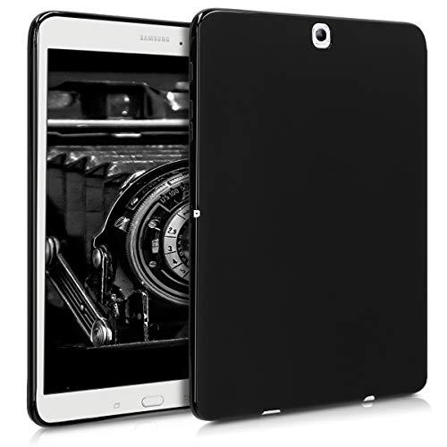 Preisvergleich Produktbild kwmobile Samsung Galaxy Tab S2 9.7 Hülle - Silikon Tablet Cover Case Schutzhülle für Samsung Galaxy Tab S2 9.7 - Schwarz matt