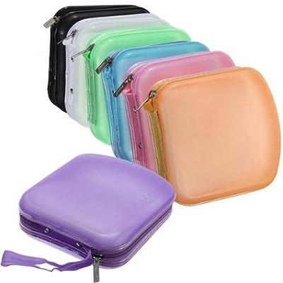 FamilyMall(TM) 40 Disc CD DVD VCD DJ Storage Media Holder Sleeve Case Hard Box Wallet Carry Bag by Familymall Co Ltd