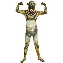 Morphsuits Klo rbzl–Enfants Burnt Zombie Monster Childs Fancy Dress Costume