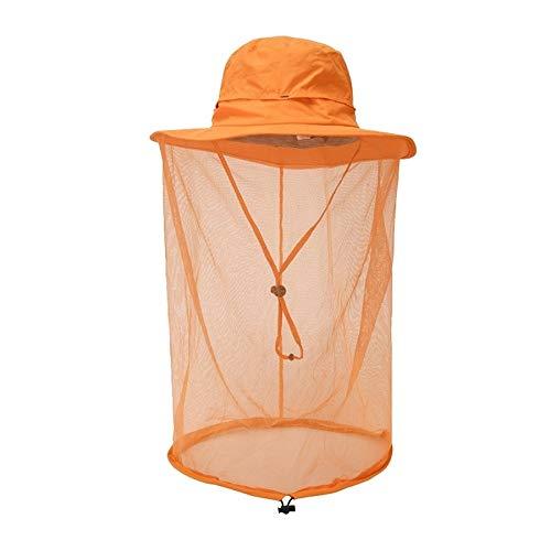 JOLLY Premium-Moskito-Kopfnetzgewebe, ultra groß, extra feine Löcher, Insektennetz, Insektengesichtsschutz, weicher, langlebiger Fliegenschutz, Schutz für alle Outdoor-Liebhaber, Tragetasche, keine Ch